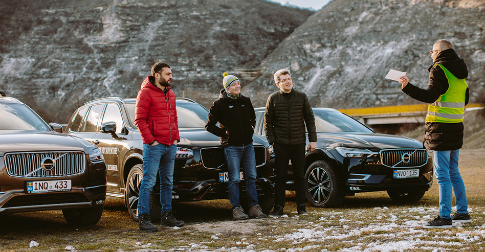 Volvo XC Adventure în Moldova - proiect de adventure VIDEO