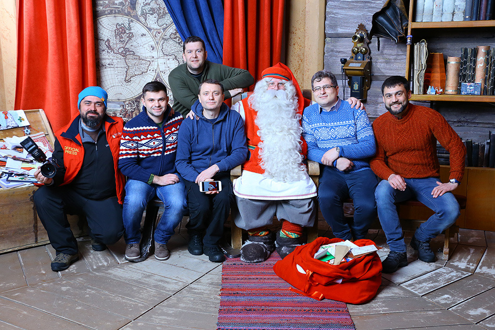 Moș Crăciun Laponia