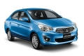 Prima imagine cu noul sedan compact Mitsubishi