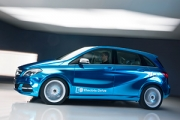 Mercedes-Benz Concept B-Class Electric Drive debutează la Paris