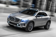 Mercedes-Benz Concept GLA - un viitor crossover compact [Video]