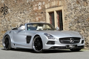 Inden Design a adus furtuna în Mercedes-Benz SLS AMG Roadster!
