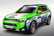 Mitsubishi Outlander PHEV va participa la Asia Cross Country Rally