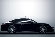 Un strop de cerneală – Porsche 911 Black Edition (Video)