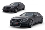 BRABUS a modificat noile Mercedes S 63 4Matic și Mercedes-Maybach S 650 facelift
