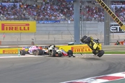 VIDEO: Top 10 cele mai spectaculoase accidente F1 in 2018
