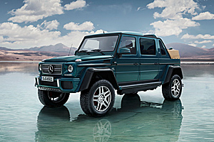 Premieră: Noul Mercedes-Maybach G 650 Landaulet! (Video)