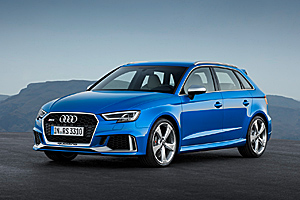 Premieră: Noul Audi RS 3 Sportback facelift (Video)