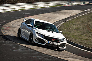 Noua Honda Civic Type R a bătut recordul de pe Nurburgring! (Video)