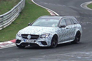 Un nou Mercedes-AMG mai performant decât E 63 S terorizează Nurburgringul! (Video)