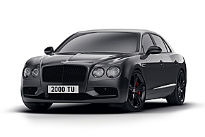 Bentley scoate o nouă ediţie – Flying Spur V8 S Black Edition