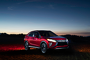 Noul Mitsubishi Eclipse Cross a surprins eclipsa totală de soare! (Video)