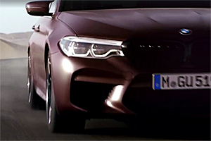 Noul BMW M5 va debuta pe 21 august! (Video)