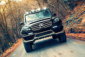 ARES X-Raid - cel mai bizar Mercedes-Benz G-Class! (Video)