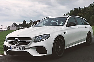 Mercedes-AMG E 63 S 4Matic+ Estate a devenit cel mai rapid break de pe Nurburgring! (Video)