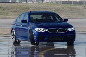 BMW M5 a înregistrat un nou record Guiness - drift timp de 8 ore (Video)