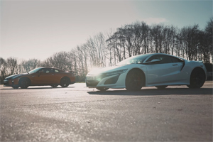Honda NSX vs Nissan GT-R în drag racing, care din legendele nipone este mai rapidă? (Video)
