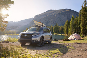 Los Angeles 2018: Noua Honda Passport!