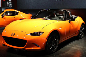 Chicago 2019: Mazda MX-5 30th Anniversary Edition