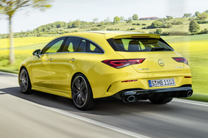 Premieră: break-ul Mercedes-Benz CLA Shooting Brake primește prima sa versiune de performanță AMG
