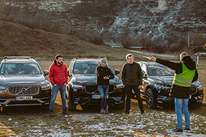 (ADVENTURE VIDEO): Volvo XC Adventure în Moldova, Episodul 3