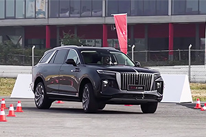 (VIDEO) Hongqi E-HS9, SUV-ul electric de lux din China, care o ia înaintea lui GLS, X7 şi Range Rover