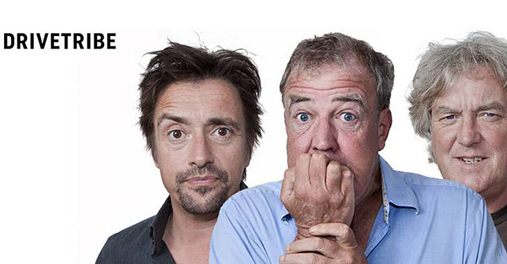 "Jeremy Clarkson, James May şi Richard Hammond lanseaz㠄reţeaua de socializare"" DRIVETRIBE! (Video)"