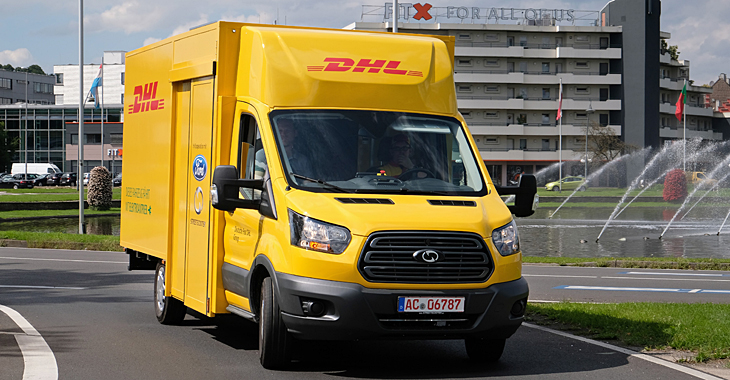 Poşta germană DHL introduce camioneta electrică bazată pe Ford Transit! (Video)