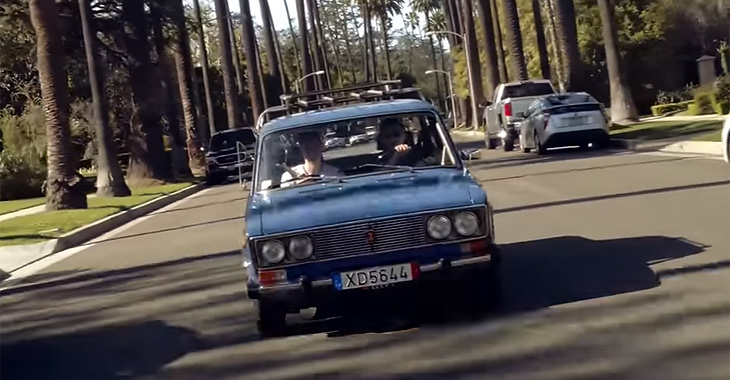 VIDEO: Americanii testează o Lada 2106!
