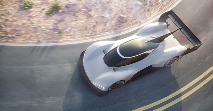 Germanii au prezentat noul super-car electric conceptual Volkswagen I.D. R Pikes Peak