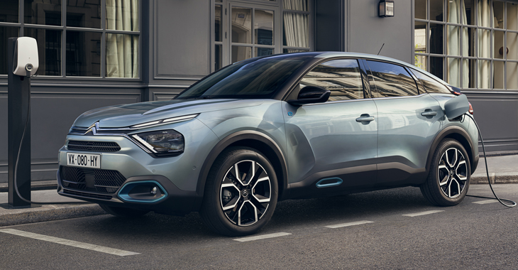 Premieră: noul Citroen C4 a devenit un cross-hatch 100% electric! Ce autonomie promite?