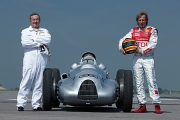 Debut mondial Audi la Goodwood cu Nick Mason