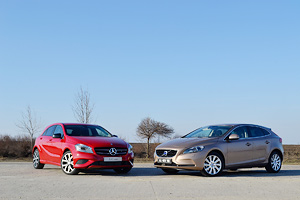Comparativul hatchback-urilor premium – Mercedes-Benz A-Class vs Volvo V40