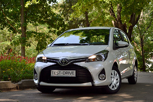 Toyota Yaris facelift