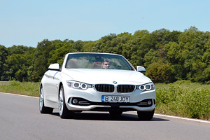 TEST DRIVE: BMW Seria 4 Convertible