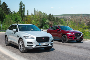 Jaguar F-PACE (+Offroad VIDEO)