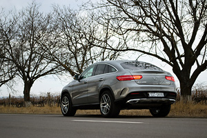 TEST DRIVE: Mercedes-Benz GLE Coupe