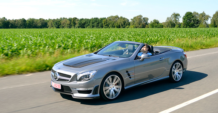 BRABUS 850 Roadster - Mercedes-Benz SL 63 AMG