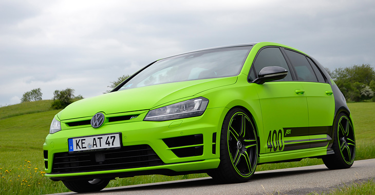 Volkswagen Golf R ABT POWER S 400 CP!