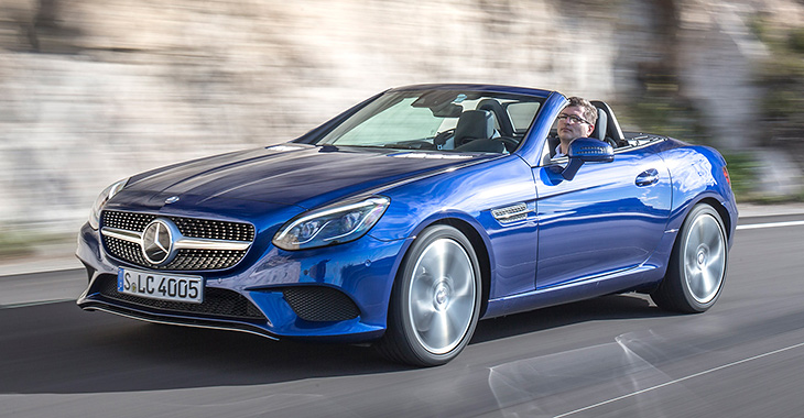 Noul Mercedes-Benz SLC