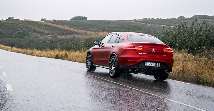 Noul Mercedes-Benz GLC Coupe