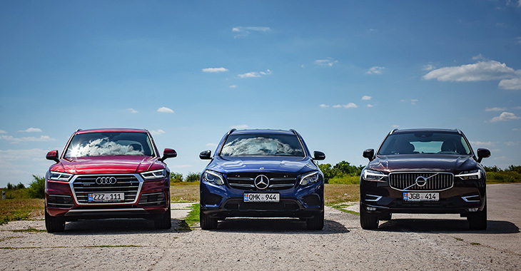 TEST DRIVE COMPARATIV: Audi Q5 vs Volvo XC60 vs Mercedes-Benz GLC!