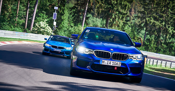 (VIDEO) TEST DRIVE: Am testat BMW M5 pe Nurburgring!