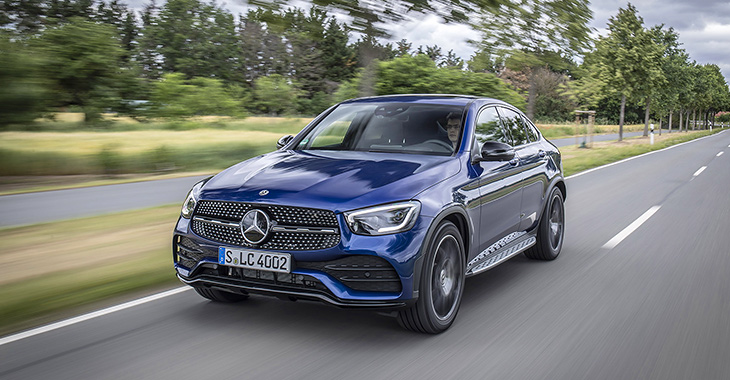 TEST DRIVE: Mercedes-Benz GLC Coupe facelift