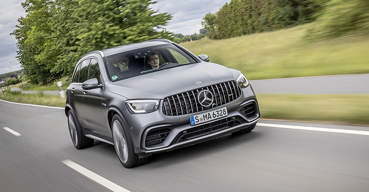 TEST DRIVE: Mercedes-AMG GLC 63 S