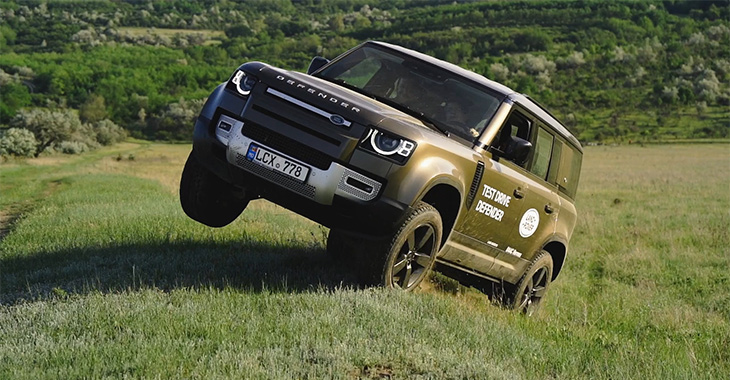 (VIDEO) TEST DRIVE: Land Rover Defender în Moldova